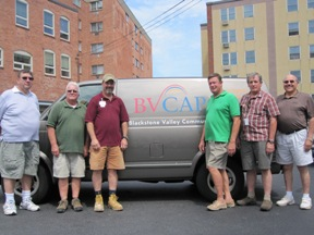 BVCAP heating crew