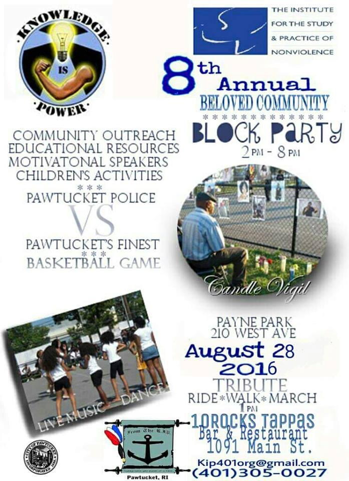 Nonviolence Block Party